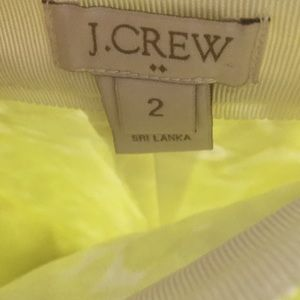 J. Crew Skirts - J Crew Postage Stamp Neon Mini Skirt